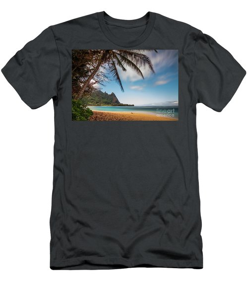Bali Hai Tunnels Beach Haena Kauai Hawaii Men's T-Shirt (Athletic Fit)