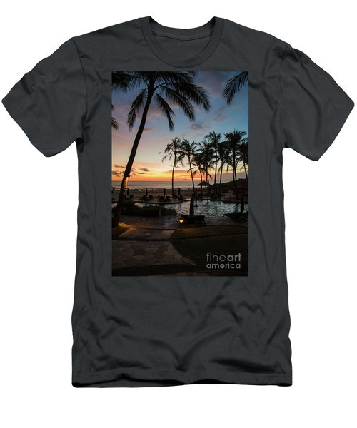 Bali Sunset Men's T-Shirt (Athletic Fit)
