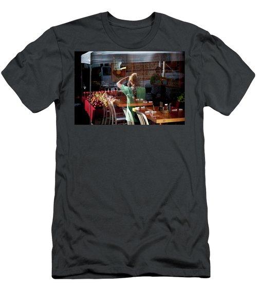 Ballard Market #2 Men's T-Shirt (Athletic Fit)