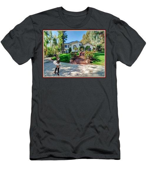 Ballet On Skates 12bos1 Men's T-Shirt (Athletic Fit)