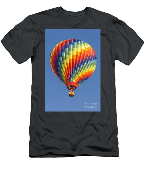 Ballooning In Color Men's T-Shirt (Slim Fit) by Anthony Sacco