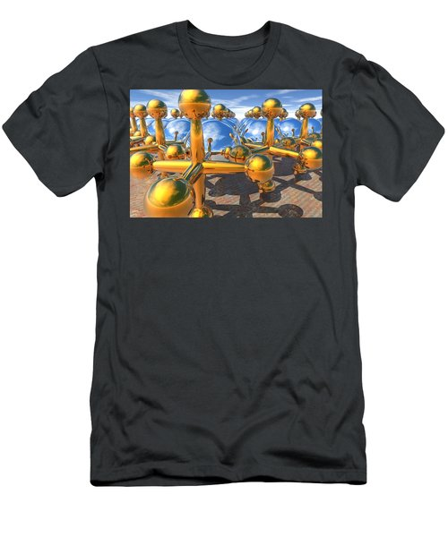 Balls And Jacks II Men's T-Shirt (Athletic Fit)