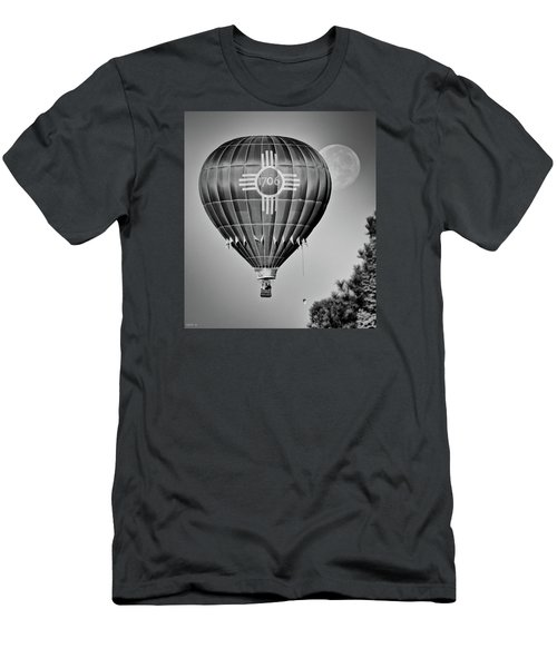 Men's T-Shirt (Slim Fit) featuring the photograph Ballunar Eclipse by Kevin Munro