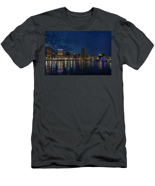 Baltimore Harbor Men's T-Shirt (Athletic Fit)