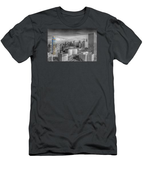 Baltimore Landscape - Bromo Seltzer Arts Tower Men's T-Shirt (Athletic Fit)