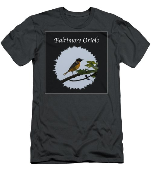 Baltimore Oriole  Men's T-Shirt (Slim Fit) by Jan M Holden