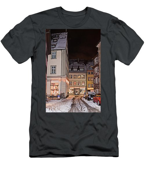 Men's T-Shirt (Athletic Fit) featuring the photograph Bamberg In The Winter by Tatiana Travelways