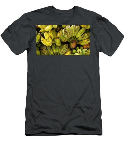 Bananas At Market Men's T-Shirt (Athletic Fit)