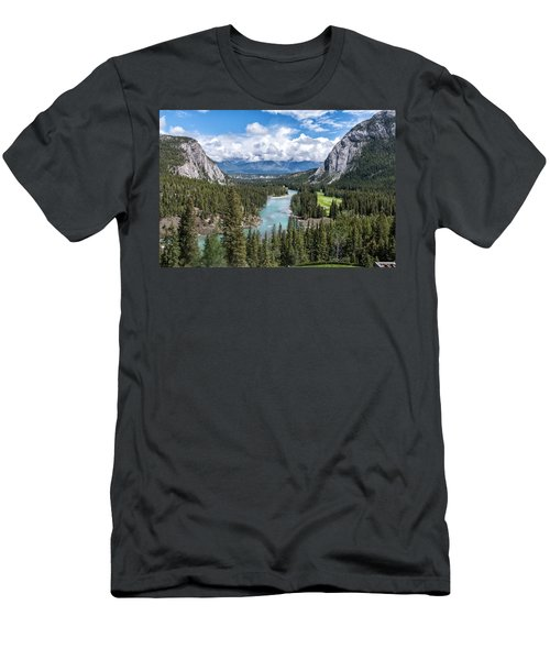 Banff - Golf Course Men's T-Shirt (Athletic Fit)