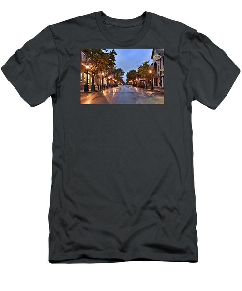 Bar Harbor - Maine Men's T-Shirt (Athletic Fit)