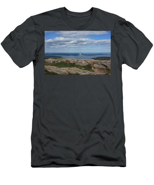 Bar Harbor View From Cadillac Men's T-Shirt (Athletic Fit)