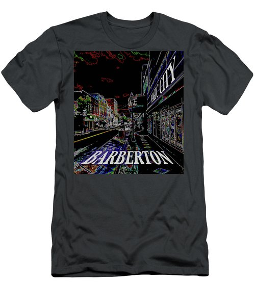 Barberton The Magic City Men's T-Shirt (Athletic Fit)