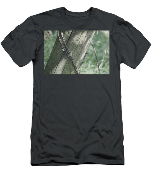 Barbwire Shadow Men's T-Shirt (Athletic Fit)