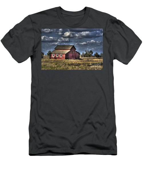 Barn After Storm Men's T-Shirt (Athletic Fit)