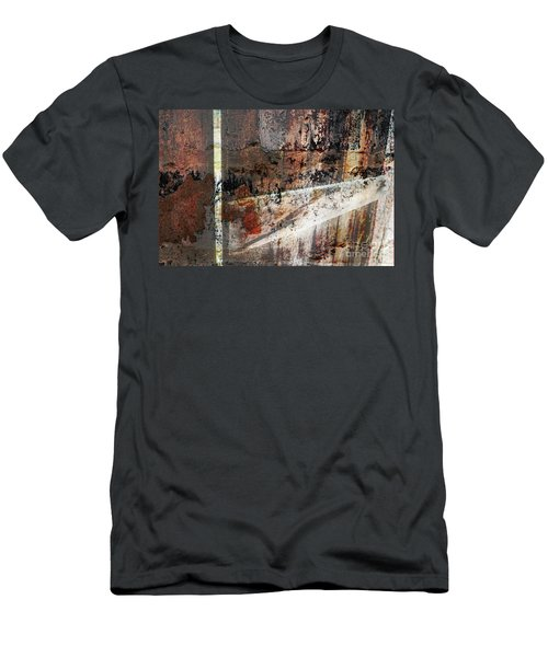 Barn Door Men's T-Shirt (Slim Fit) by Deborah Nakano