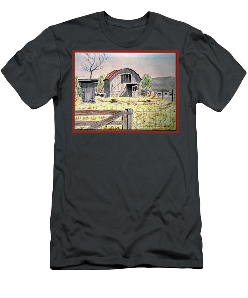 Barn On Fisk Rd Men's T-Shirt (Athletic Fit)