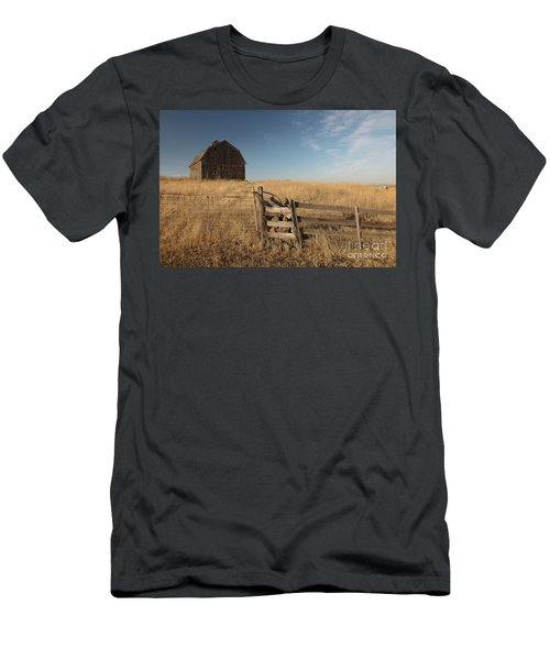 Barn On The Prairie Men's T-Shirt (Athletic Fit)