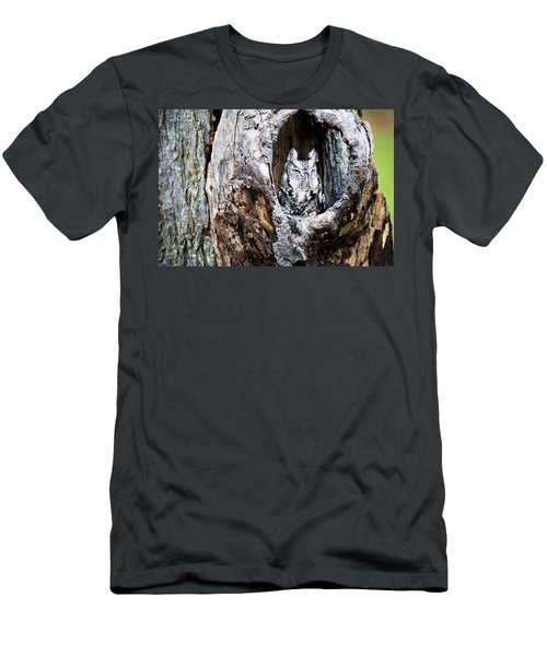 Screech Owl Men's T-Shirt (Athletic Fit)