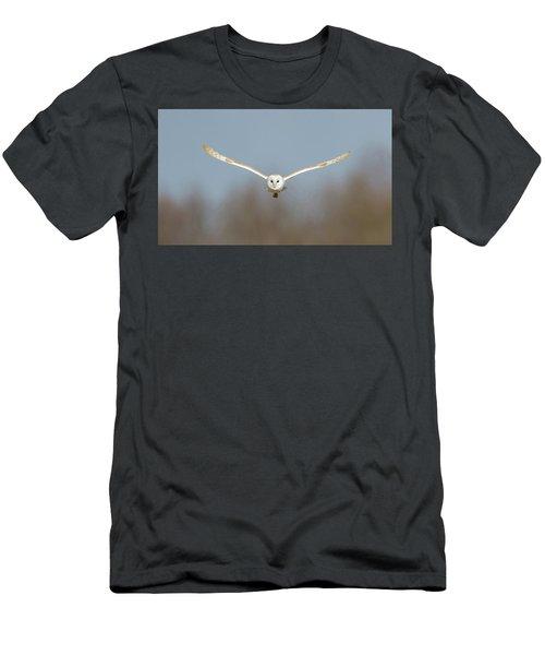 Barn Owl Sculthorpe Moor Men's T-Shirt (Athletic Fit)