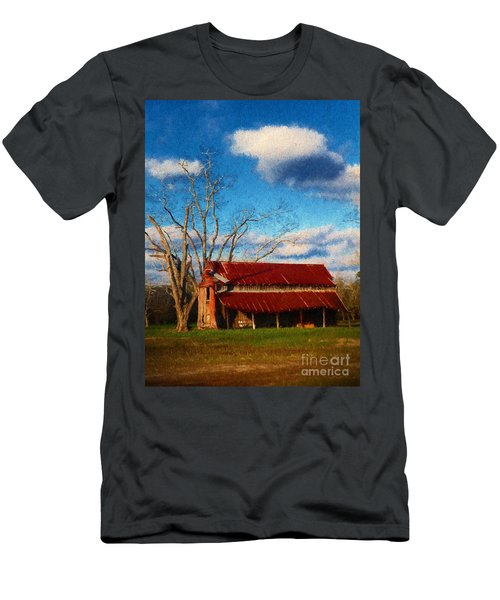 Red Roof Barn 2 Men's T-Shirt (Athletic Fit)