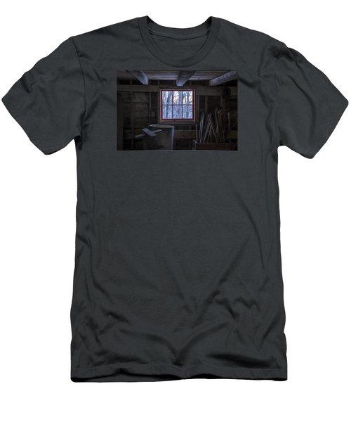 Barn Window II Men's T-Shirt (Slim Fit) by Tom Singleton