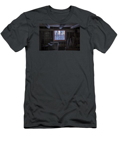 Barn Window II Men's T-Shirt (Athletic Fit)