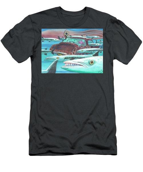 Barracuda Men's T-Shirt (Athletic Fit)