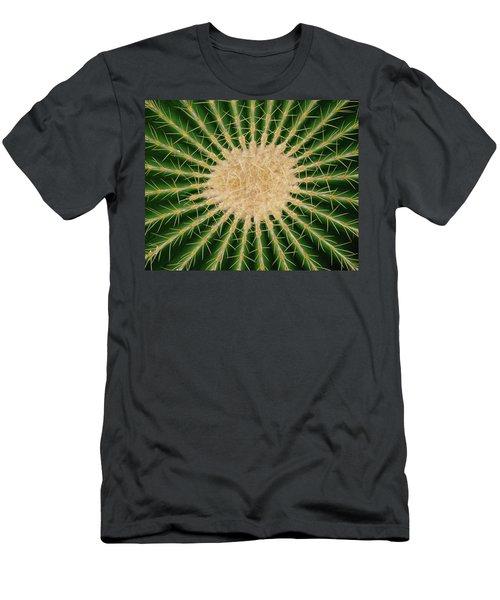 Barrel Cactus No. 6-1 Men's T-Shirt (Athletic Fit)
