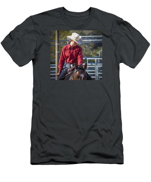 Barrel Racer Men's T-Shirt (Athletic Fit)