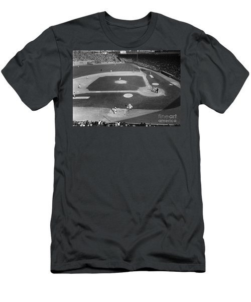 Baseball Game, 1967 Men's T-Shirt (Athletic Fit)