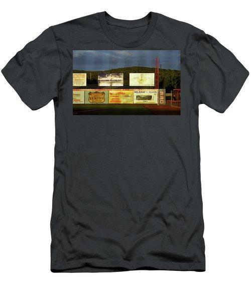 Baseball Sunset 2005 Men's T-Shirt (Slim Fit) by Frank Romeo