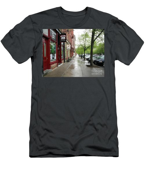 Baseball's Cooperstown Ny  Men's T-Shirt (Athletic Fit)