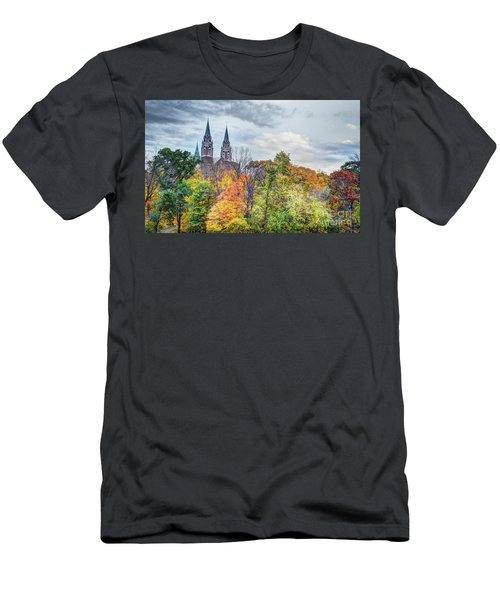 Basilica Of Holy Hill National Shrine Of Mary Men's T-Shirt (Athletic Fit)