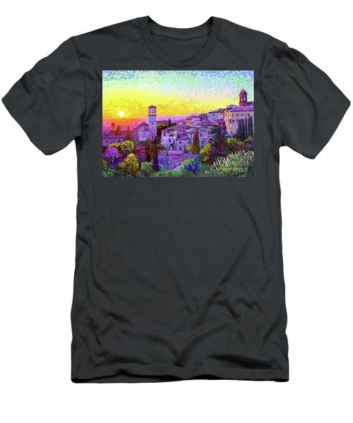 Basilica Of St. Francis Of Assisi Men's T-Shirt (Athletic Fit)