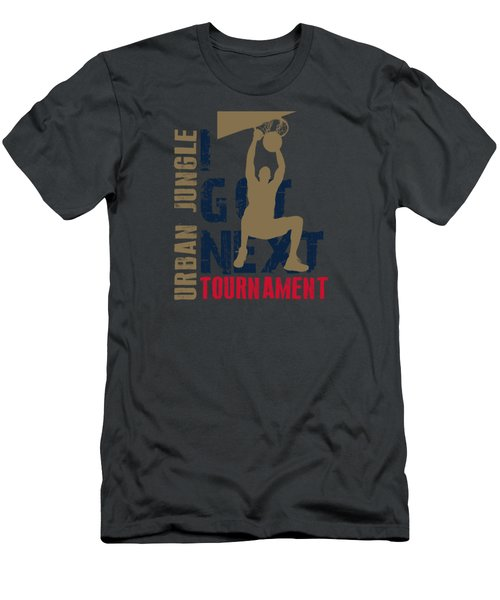 Basketball I Got Next 4 Men's T-Shirt (Slim Fit) by Joe Hamilton