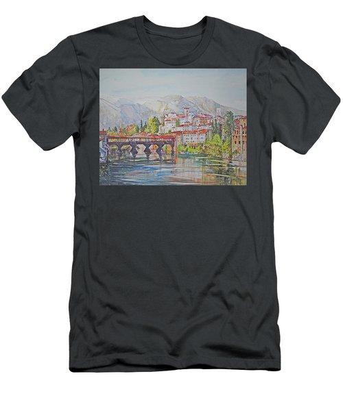 Bassano Del Grappa Men's T-Shirt (Athletic Fit)