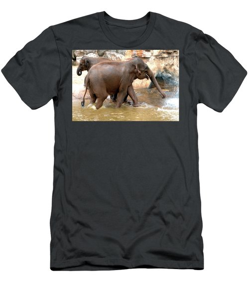 Bath Time Men's T-Shirt (Athletic Fit)
