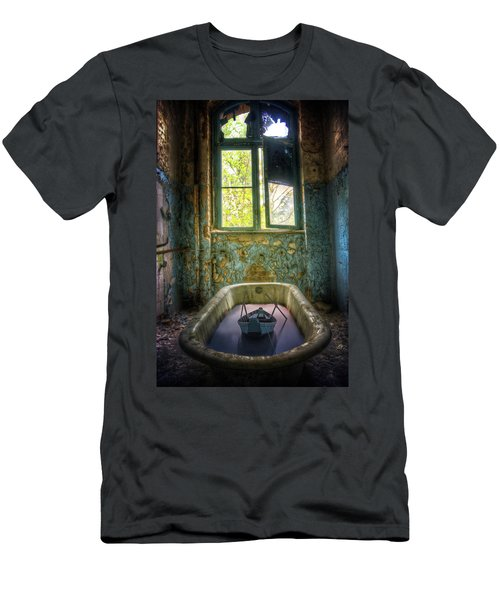Men's T-Shirt (Slim Fit) featuring the digital art Bath Toy by Nathan Wright