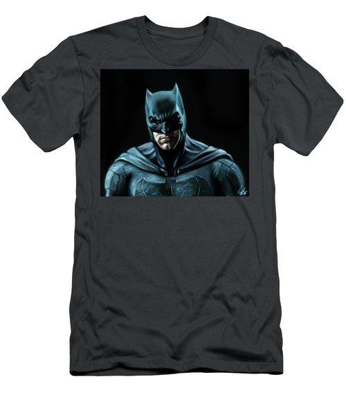 Batman Justice League Men's T-Shirt (Athletic Fit)