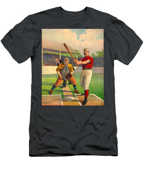 Batter Up 1895 Men's T-Shirt (Athletic Fit)
