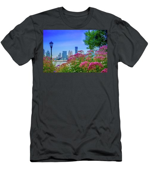 Battery Park Blooms Men's T-Shirt (Athletic Fit)
