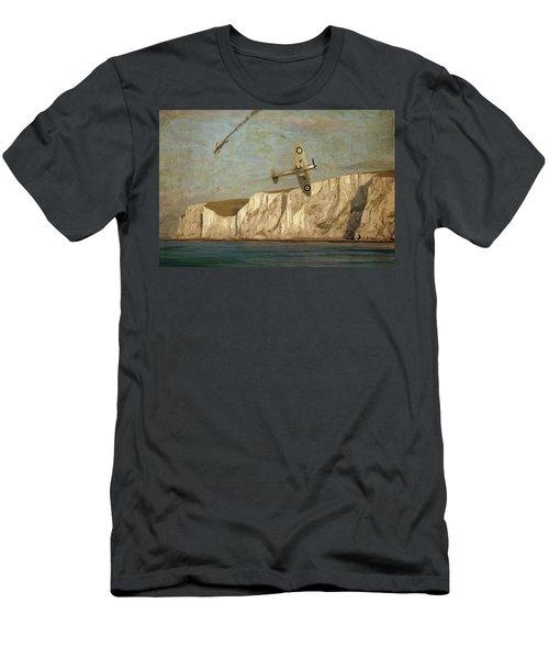 Battle Of Britain Over Dover Men's T-Shirt (Athletic Fit)