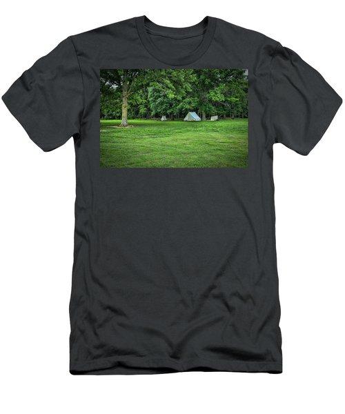 Battlefield Camp 2 Men's T-Shirt (Athletic Fit)