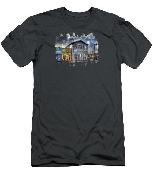 Bay Street Morning Men's T-Shirt (Slim Fit) by Thom Zehrfeld