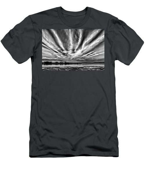 Bayfarm Island Sunrise Men's T-Shirt (Athletic Fit)