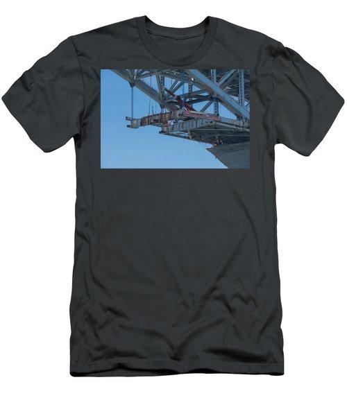 Bayonne Bridge Raising 4 Men's T-Shirt (Athletic Fit)