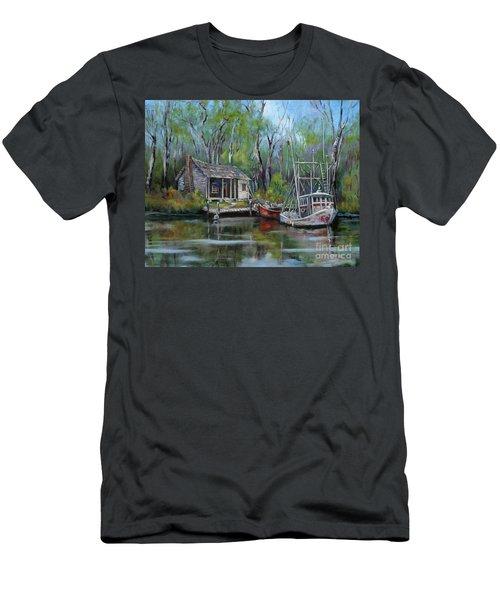 Bayou Shrimper Men's T-Shirt (Athletic Fit)