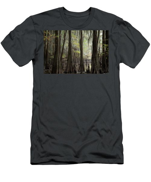 Bayou Trees Men's T-Shirt (Athletic Fit)