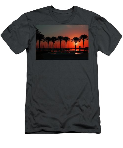Bayshore Drive Harborwalk Men's T-Shirt (Athletic Fit)