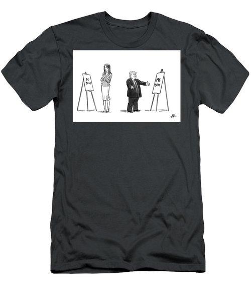 Be Best Me Best Men's T-Shirt (Athletic Fit)